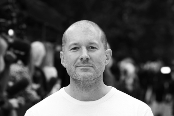 LONDON, ENGLAND - SEPTEMBER 17: Jonathan Ive attends the front row for the Burberry Prorsum show on day 4 of London Fashion Week Spring/Summer 2013 on September 17, 2012 in London, England. (Photo by Mike Marsland/WireImage)