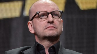"""Director Steven Soderbergh speaks onstage during the """"The Knick"""" segment of HBO 2014 Summer TCA on Thursday, July 10, 2014, in Beverly Hills, Calif. (Photo by Richard Shotwell/Invision/AP)"""